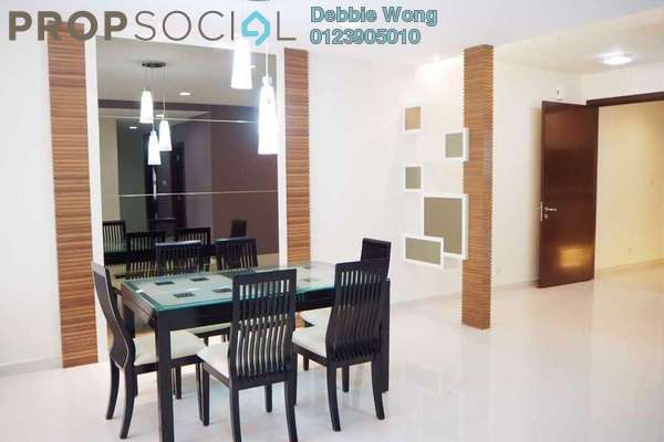 For Rent Condominium at Mont Kiara Meridin, Mont Kiara Freehold Fully Furnished 3R/3B 6k