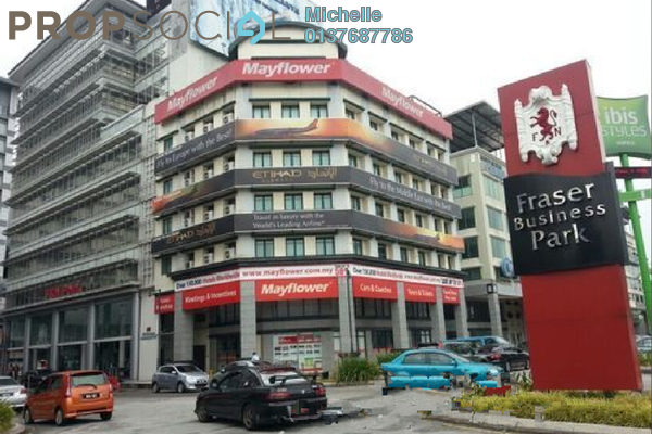 For Rent Office at Fraser Business Park, Sungai Besi Freehold Fully Furnished 5R/5B 3k