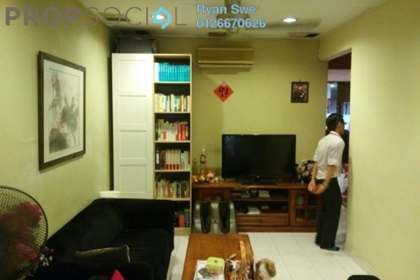 For Sale Terrace at SD2, Bandar Sri Damansara Freehold Semi Furnished 3R/2B 590k