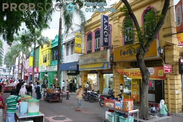 For Rent Shop at Petaling Street, Pudu Freehold Semi Furnished 2R/2B 33k