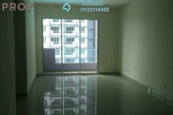 For Rent Condominium at Platinum Lake PV12, Setapak Freehold Semi Furnished 3R/2B 1.5k