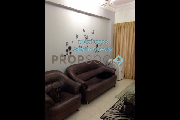 For Rent Condominium at Medan Putra Condominium, Bandar Menjalara Freehold Fully Furnished 3R/3B 1.6k