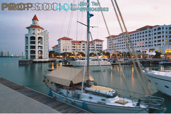 For Sale Serviced Residence at Straits Quay, Seri Tanjung Pinang Freehold Fully Furnished 2R/3B 2m