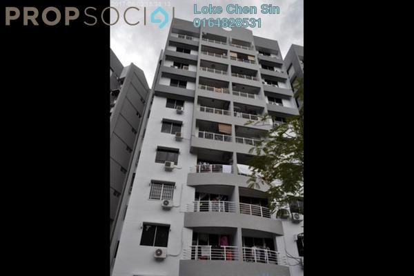 For Rent Apartment at Desa Bukit Jambul, Bukit Jambul Freehold Semi Furnished 2R/2B 1.25k