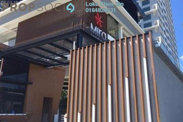 For Rent Condominium at Mira Residence, Tanjung Bungah Freehold Semi Furnished 3R/2B 2k