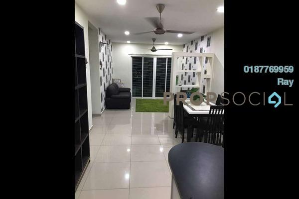 For Rent Condominium at Seri Puteri, Bandar Sri Permaisuri Freehold Semi Furnished 3R/3B 1.9k