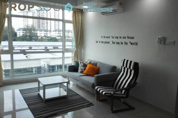 For Rent Condominium at Central Residence, Sungai Besi Freehold Fully Furnished 3R/2B 2k