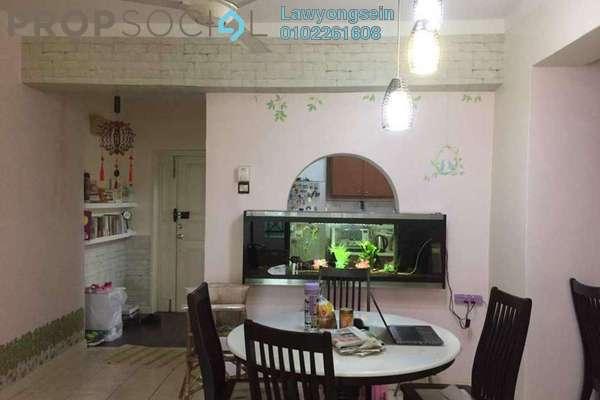 For Sale Condominium at Vista Komanwel, Bukit Jalil Freehold Semi Furnished 3R/2B 570k