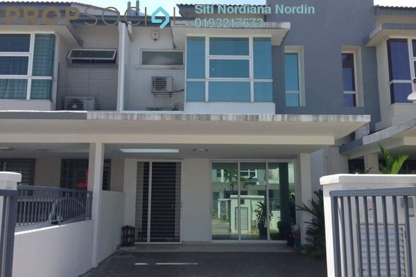 For Sale Terrace at Taman Puchong Prima, Puchong Freehold Semi Furnished 4R/3B 750k