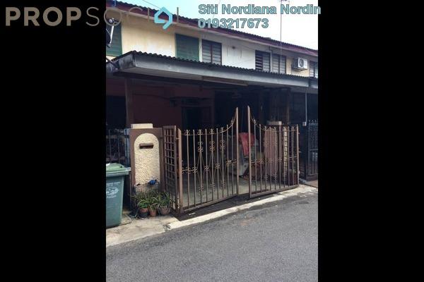 For Sale Terrace at Taman Beringin, Jinjang Freehold Semi Furnished 2R/2B 235k