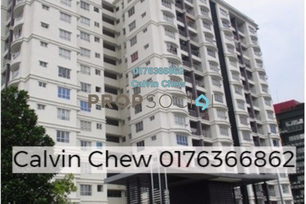 For Sale Serviced Residence at Suri Puteri, Shah Alam Freehold Unfurnished 3R/2B 306k