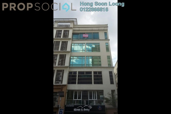 For Sale Office at 3 Two Square, Petaling Jaya Freehold Fully Furnished 0R/2B 779k