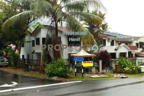 For Sale Terrace at Taman Melawati, Melawati Freehold Semi Furnished 5R/3B 1.2m