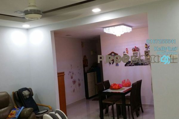 For Rent Condominium at Prima Tiara 2, Segambut Freehold Fully Furnished 3R/2B 1.6k
