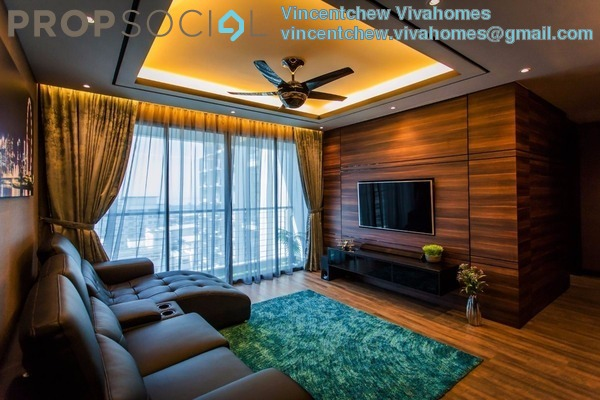 For Sale Serviced Residence at AERA Residence , Petaling Jaya Leasehold Semi Furnished 3R/2B 470k