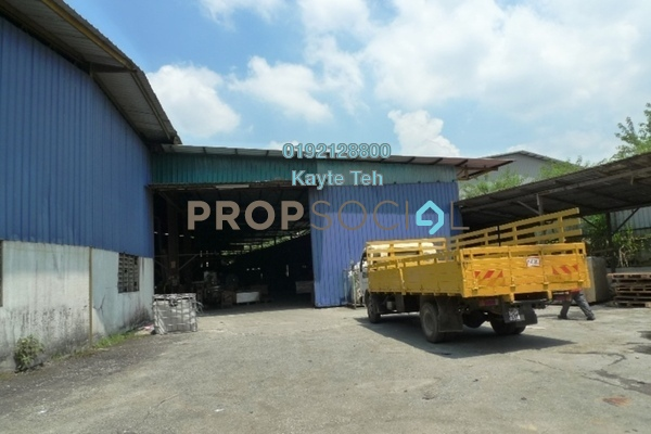 For Sale Factory at Section U6, Shah Alam Leasehold Unfurnished 0R/6B 7.7m