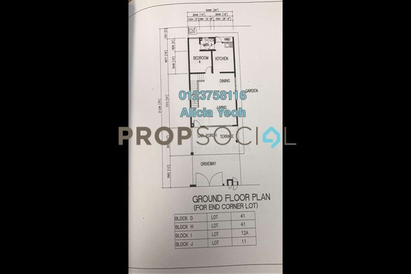 For Sale Terrace at Mutiara Puchong, Puchong Leasehold Unfurnished 4R/3B 1.1m