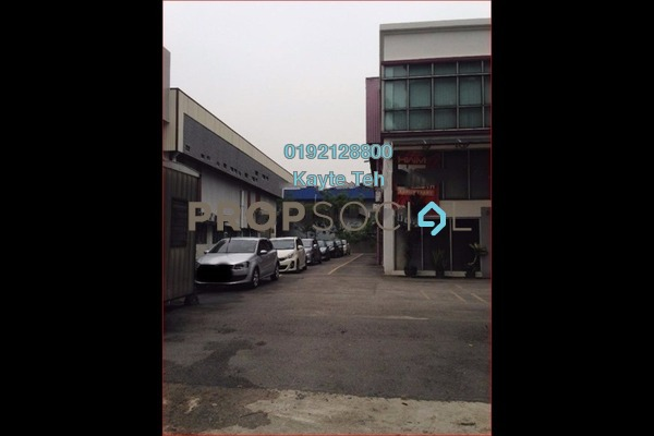 For Sale Factory at Temasya Industrial Park, Temasya Glenmarie Freehold Unfurnished 4R/6B 7.3m