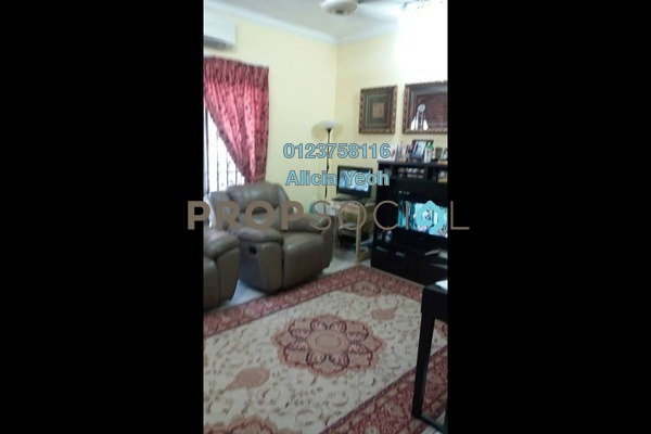 For Sale Terrace at Taman Pinggiran USJ, Subang Jaya Freehold Semi Furnished 4R/3B 650k