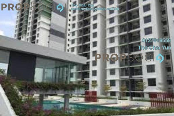 For Rent Condominium at Ivory Residence, Kajang Freehold Semi Furnished 3R/2B 1.21k