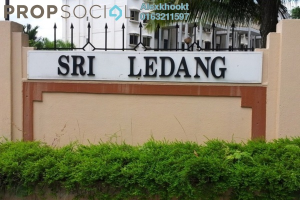 For Sale Apartment at Sri Ledang, Wangsa Maju Freehold Semi Furnished 4R/2B 420k
