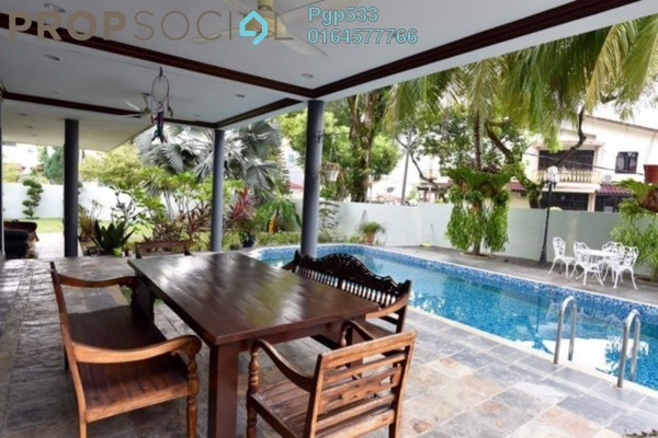 For Sale Bungalow at Minden Heights, Gelugor Freehold Fully Furnished 5R/6B 4.45m