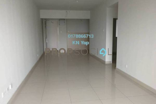For Rent Serviced Residence at Maxim Residences, Cheras Freehold Semi Furnished 3R/2B 1.8k