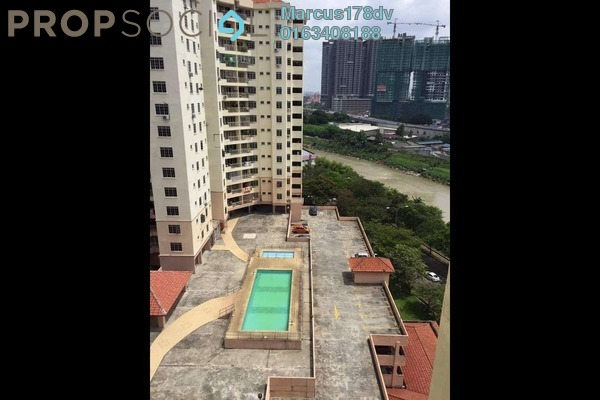 For Sale Apartment at Zamrud Apartment, Old Klang Road Freehold Semi Furnished 3R/2B 405k