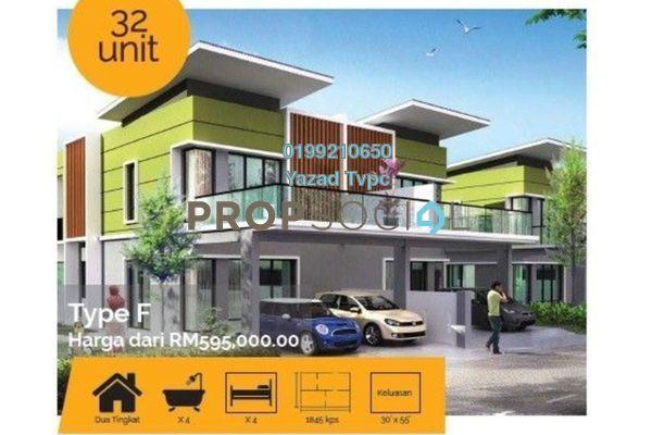 For Sale Terrace at Mutiara Keruing, Kajang Freehold Unfurnished 4R/4B 595k
