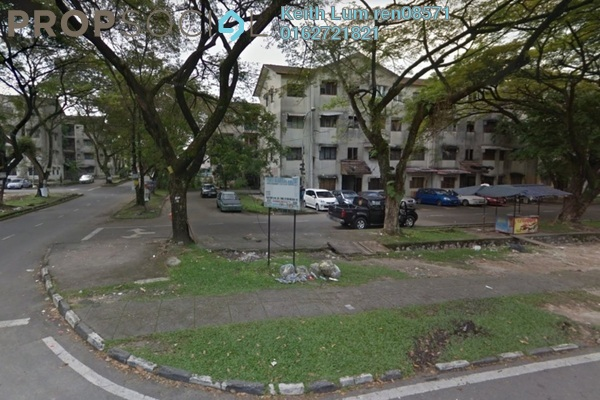 For Sale Apartment at Taman Alam Megah, Shah Alam Leasehold Unfurnished 2R/1B 120k