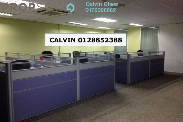 For Rent Office at Jaya One, Petaling Jaya Leasehold Fully Furnished 1R/2B 5.5k
