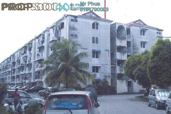 For Rent Apartment at Desa Permai Indah, Sungai Dua Leasehold Semi Furnished 3R/2B 1.2k