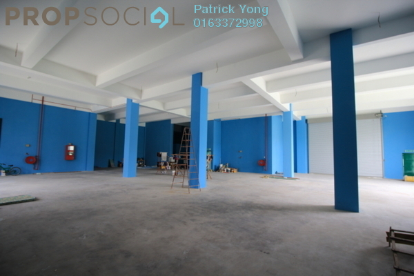 For Rent Factory at Taman Meranti Jaya Industrial Park, Puchong Freehold Unfurnished 0R/6B 61k