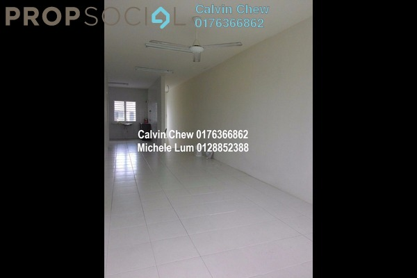 For Sale Townhouse at The Lake Residence, Puchong Leasehold Unfurnished 3R/2B 408k