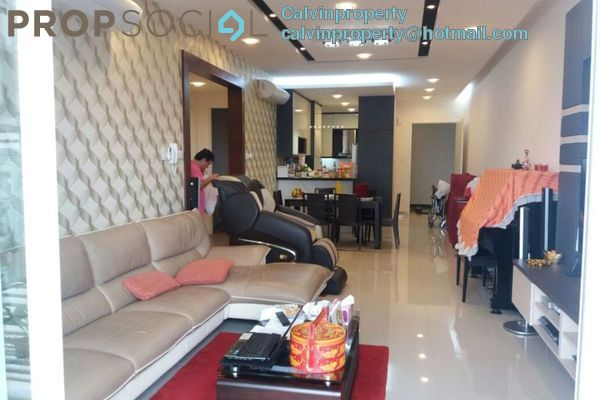 For Rent Condominium at Le Yuan Residence, Kuchai Lama Freehold Semi Furnished 4R/2B 2.4k