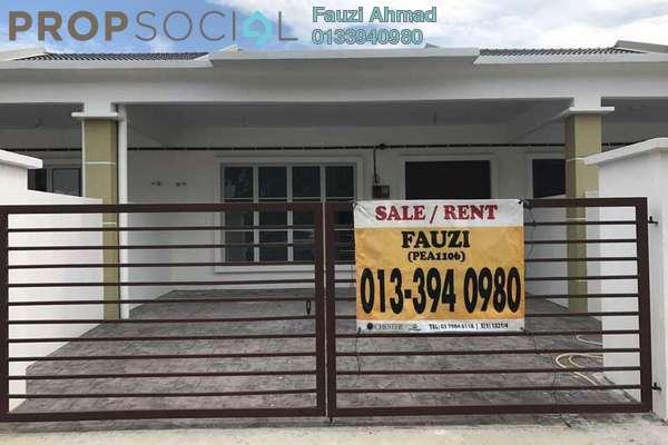 For Sale Terrace at Taman Lestari Mewah, Dengkil Freehold Unfurnished 3R/2B 380k