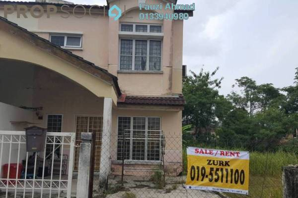 For Sale Terrace at Section 6, Bandar Mahkota Cheras Leasehold Unfurnished 4R/3B 620k