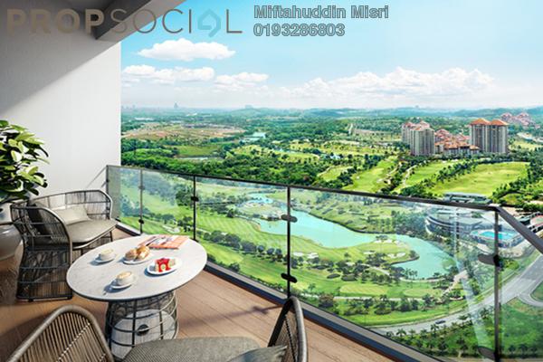 For Sale Condominium at Taman Bangi Villa, Bangi Freehold Semi Furnished 3R/2B 557k