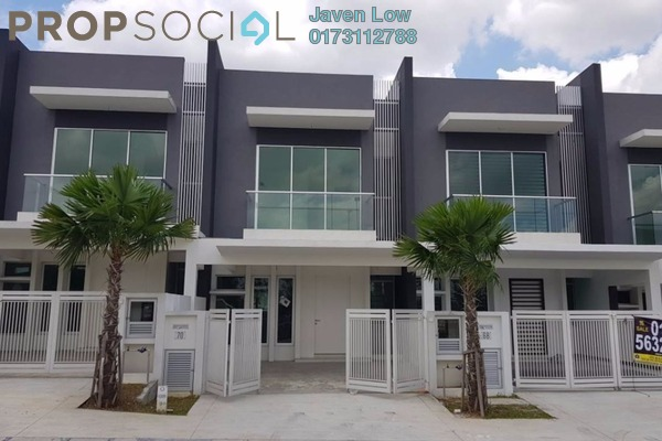 For Sale Terrace at Paragon 150, Bandar Putra Permai Freehold Semi Furnished 5R/3B 850k