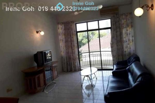 For Rent Condominium at Desa Bunga, Pulau Tikus Freehold Fully Furnished 3R/2B 1.9k