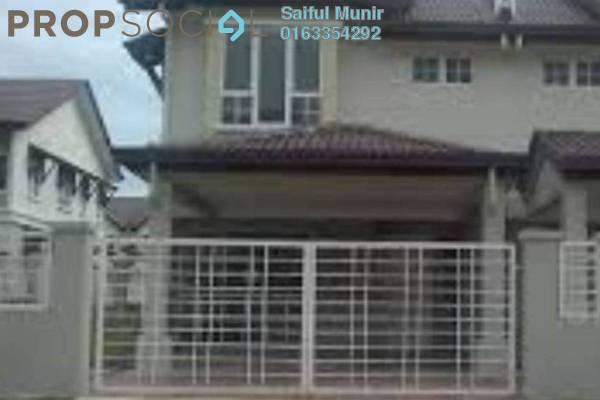 For Sale Terrace at Alam Nusantara, Setia Alam Freehold Semi Furnished 4R/3B 695k