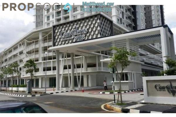 For Sale Condominium at Gardens Ville, Sungai Ara Freehold Semi Furnished 3R/2B 500k