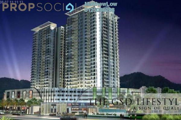 For Sale Condominium at Gardens Ville, Sungai Ara Freehold Semi Furnished 3R/2B 480k