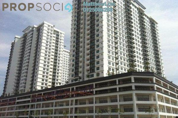 For Sale Condominium at The Golden Triangle, Relau Freehold Semi Furnished 3R/2B 590k