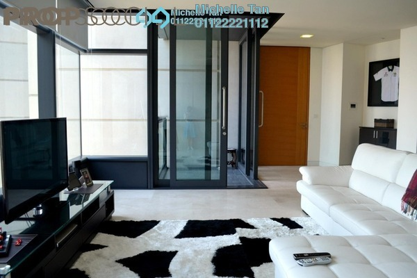 For Rent Condominium at The Troika, KLCC Freehold Semi Furnished 3R/5B 11.5k