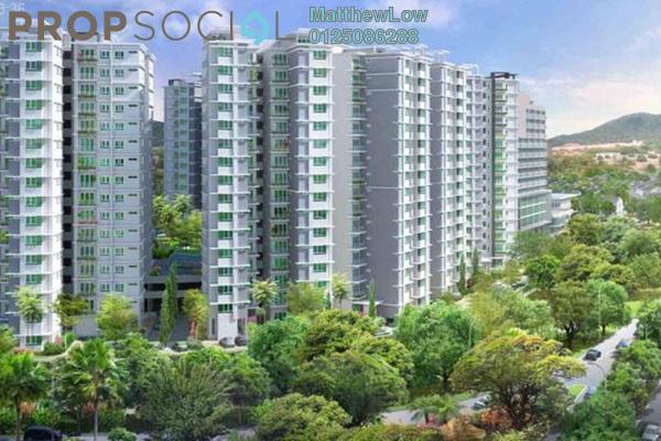 For Sale Condominium at Fiera Vista, Sungai Ara Freehold Semi Furnished 3R/2B 600k