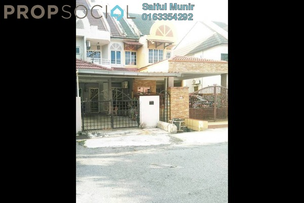 For Sale Terrace at Taman Kosas, Ampang Leasehold Semi Furnished 3R/3B 550k