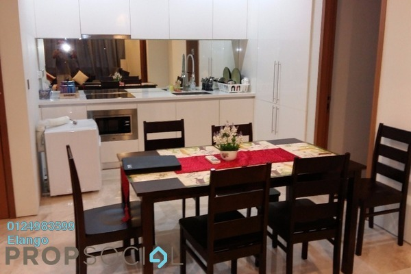 For Sale Condominium at Soho Suites, KLCC Freehold Fully Furnished 2R/1B 800k