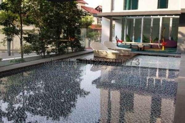 For Sale Condominium at Arata of Tijani, Kenny Hills Freehold Semi Furnished 2R/2B 920k