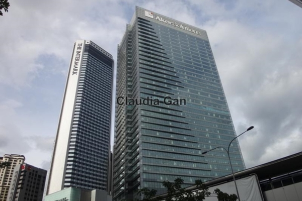 For Rent Office at The Intermark, KLCC Freehold Unfurnished 0R/0B 18.8k